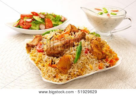 Chicken Biryani-B