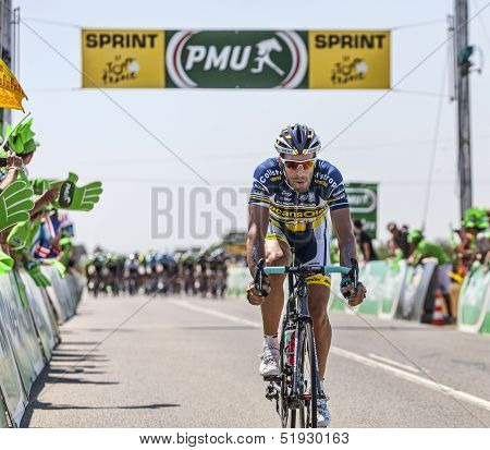 The Cyclist Juan Antonio Flecha Giannoni