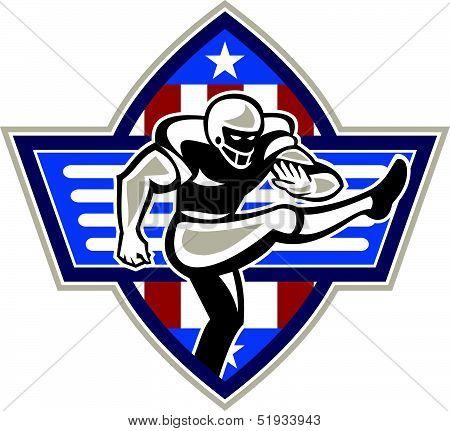American Football Placekicker
