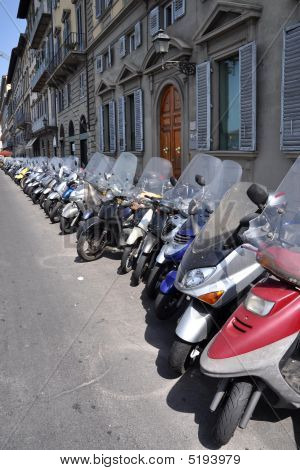 Scooter Parking In Florence