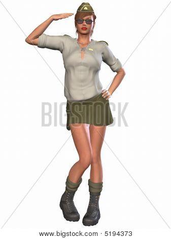 Army Pinup Girl