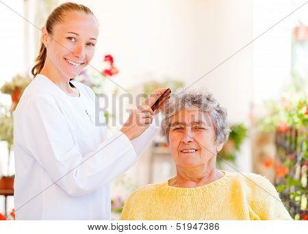 Pflege älterer Menschen-Startseite