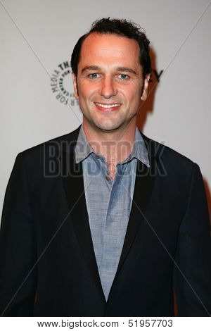 NEW YORK-OCT 4: Actor Matthew Rhys attends 'The Americans' during 2013 PaleyFest: Made In New York at Paley Center for Media on October 4, 2013 in New York City.