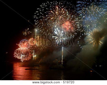 Neues Jahr an der Copacabana