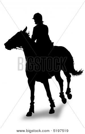 Rider Silhouette