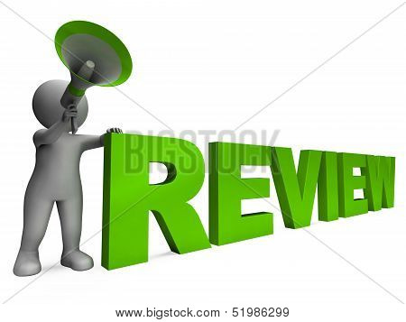 Review Character Shows Assessing Evaluating Evaluate And Reviews