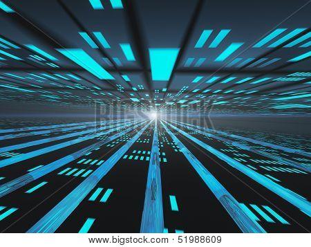Dark Horizon  Internet Power Grid..