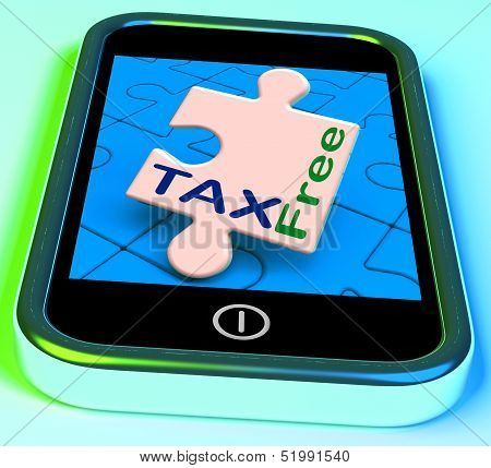 Tax Free Phone Means Untaxed Or Duty Excluded.