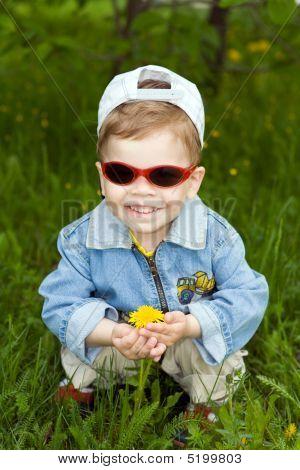 The Boy-dandelion