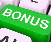 Bonus Key Showing Extra Gift Or Gratuity Online poster