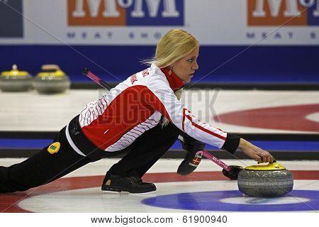 Curling Women Denmark Madeleine Dupont