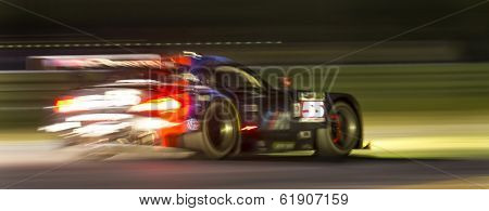 Sebring, FL - Mar 13, 2014:  The Tudor United SportsCar Championship teams take to the track  for a practice session for the 12 Hours of Sebring at Sebring International Raceway in Sebring, FL.