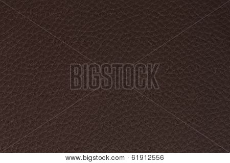background made of dark brown leath