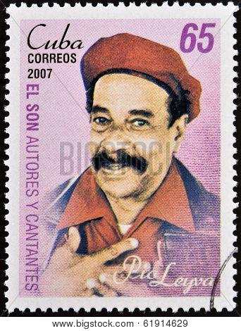 CUBA - CIRCA 2007: A stamp printed in cuba shows Pio Leyva
