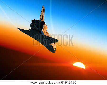 Space Shuttle Landing.