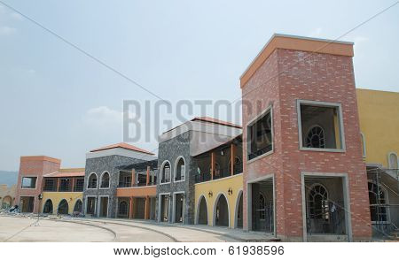 Building On Construction Site