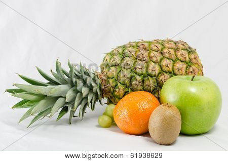 Pineapple and tropical fruit