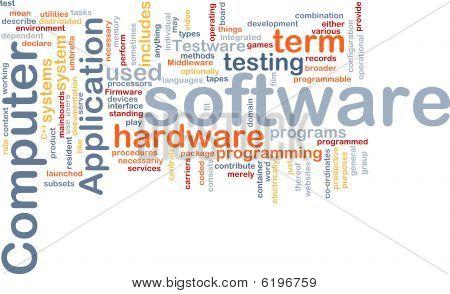 Software Word Cloud
