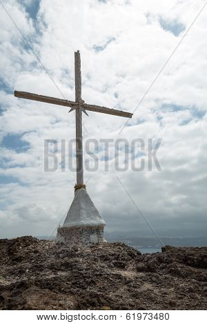 Cross With Stormy Skies