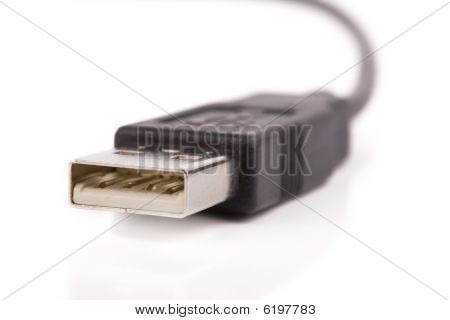 Usb Connector Closeup