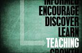 Teaching Key Concepts as a Education Teacher poster