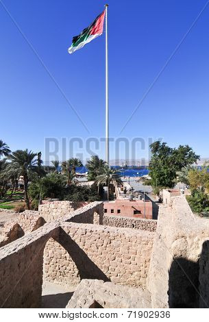 Aqaba Fort In Aqaba, South Jordan