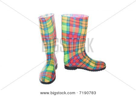 Colored Boots