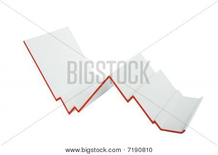 Business Graph: Crisis Concept