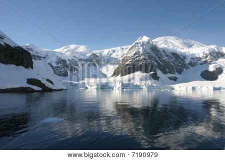 Beautiful landscape in Antartica