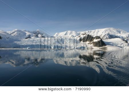 Landscape in Antartica