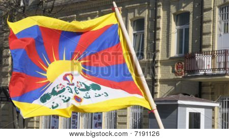 Picket for free Tibet