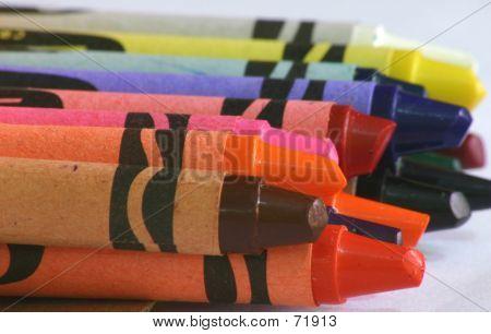 Crayon Close-up