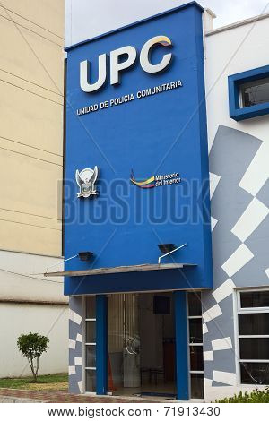 UPC Police Building in Quito, Ecuador