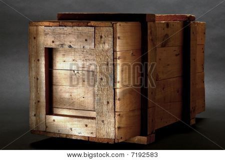 Old Wood Shipping Crate
