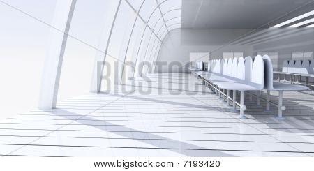 Flygplats hallen