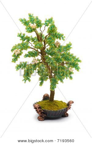 Green Tree Beads