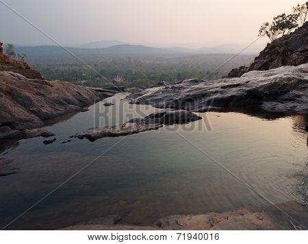 Infinity Pool at Gunlom (Waterfall Creek), Kakadu National Park, Australia