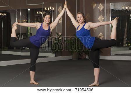 Women in Yoga Poses