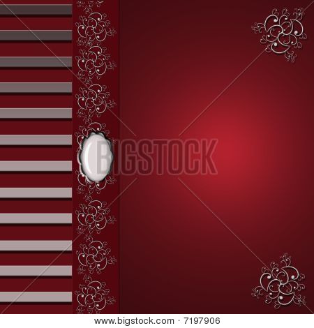 Elegant Burgundy Background