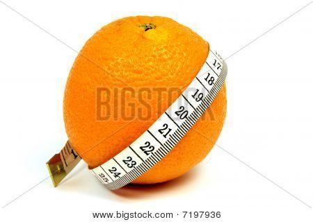 orange fitness queen