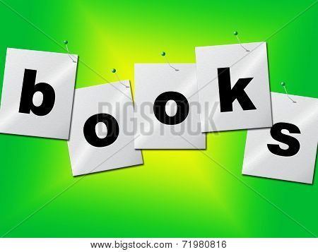 Education Books Shows Train College And Development