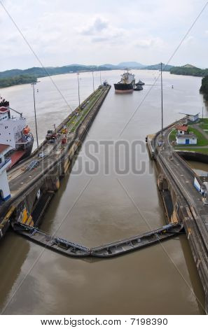Panama Channel Lock