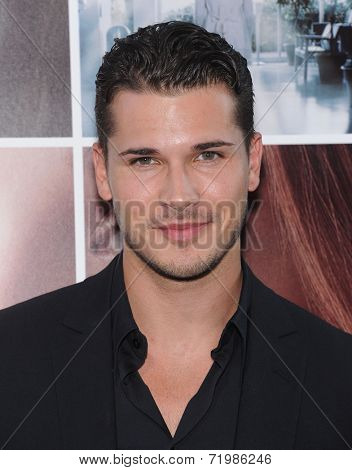 LOS ANGELES - AUG 20:  Gleb Savchenko arrives to the 'If I Stay' Hollywood Premiere  on August 20, 2014 in Hollywood, CA