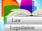 Law Legislation Showing Lawyer Lawfulness And Judiciary poster