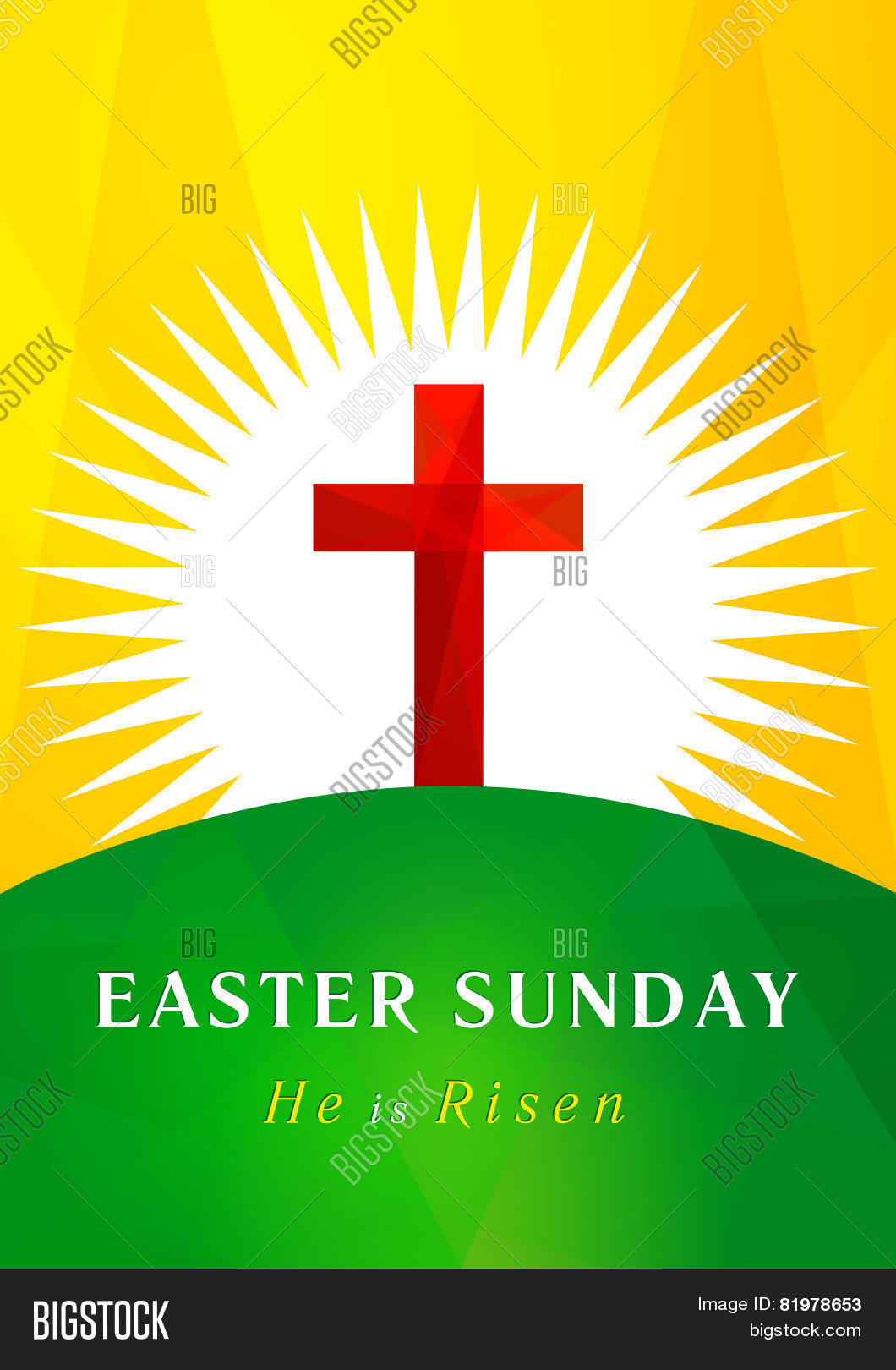 Happy Easter He Vector Photo Free Trial Bigstock