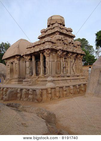 Arjuna Ratha (Chariot) Mahabalipuram,India