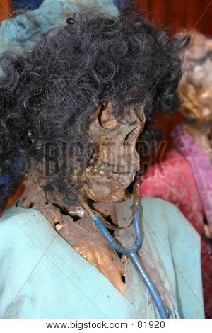 Skeleton Medical Worker