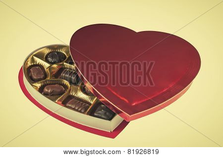 Heart Shaped Box Of Assorted Candies