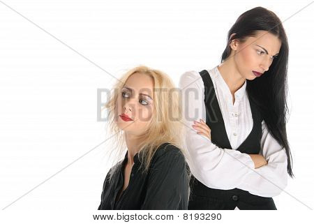Two Offended Women