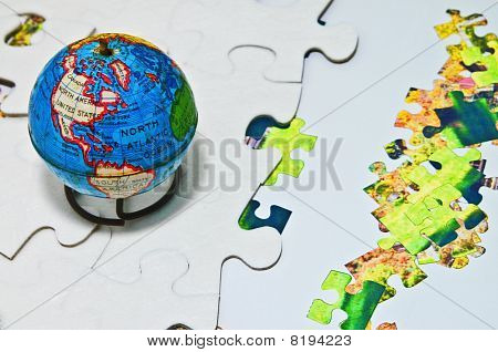 Puzzling Changing World Going Green